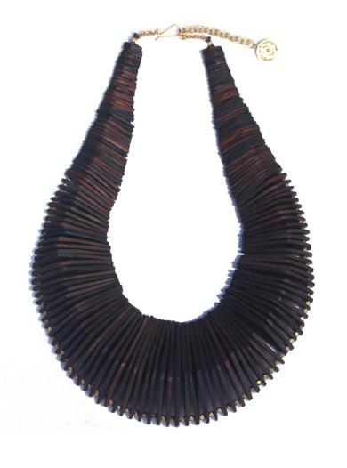 Laura Siegel Horn Necklace
