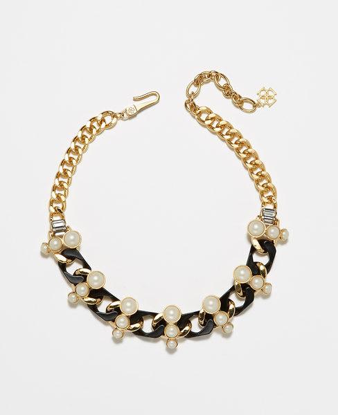 Ann Taylor Arctic Halo Necklace