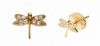 Loquet Dragonfly earring 2