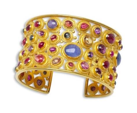 Carolyn Tyler Pesta Cuff Bracelet