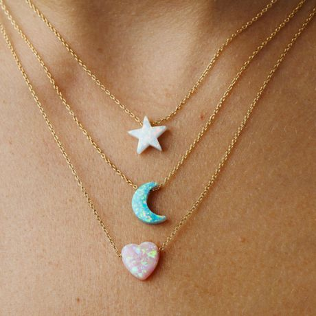 Hayley Starr opal necklace