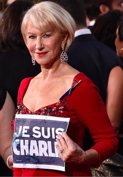 Helen Mirren Golden Globes 2015