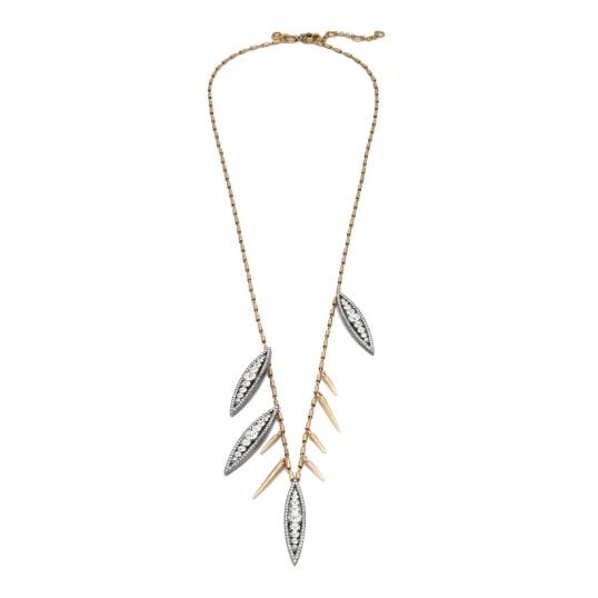 J Crew Crystal Floret Necklace