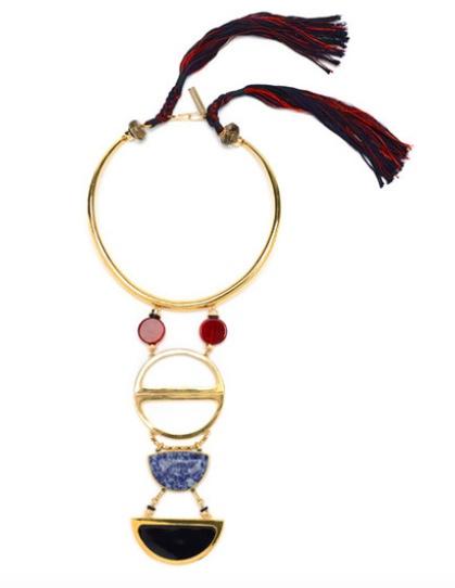 Lizzie Fortunato Objets d'Art Necklace