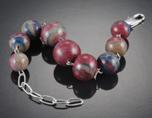 Matt Cole bowling ball bracelet