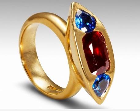 Smith + Harris engagement ring
