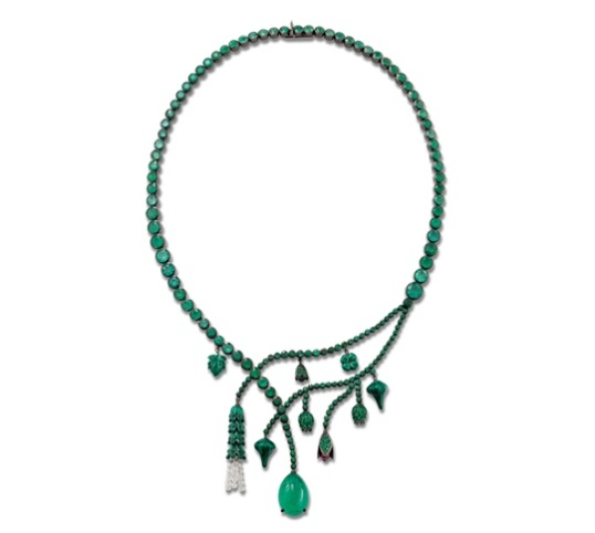 Solange Azagury Partridge Chlorophyll Necklace