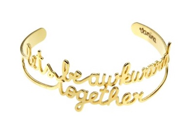 Vanina Let's Be Awkward Together bracelet