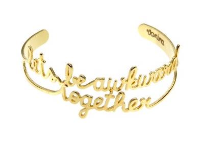 Vanina Let's Be Awkward Together bracelet