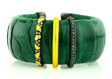 Yossi Harari Green Cuff
