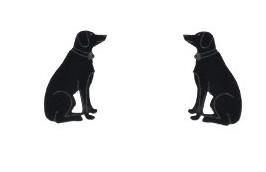 Black Dog Colville Earrings