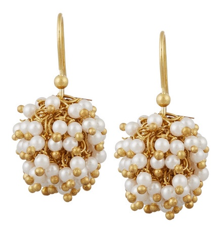 Rosantica Pom Pom earrings