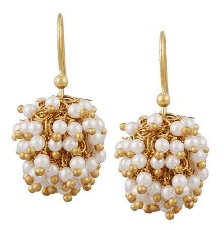 Rosantica Pom Pom earrings