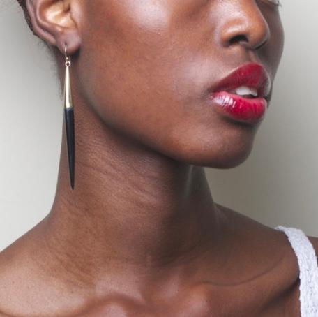 Soko Black earrings