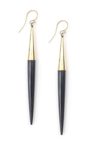 Soko Capped Dangle Earrings
