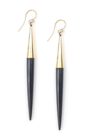 Soko Capped Dangle Earrings