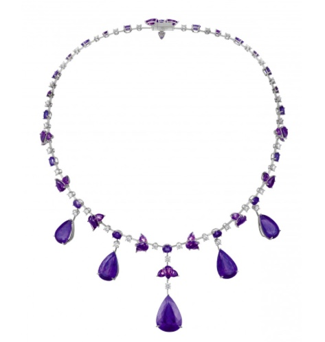 Chopard Tanzanite necklace