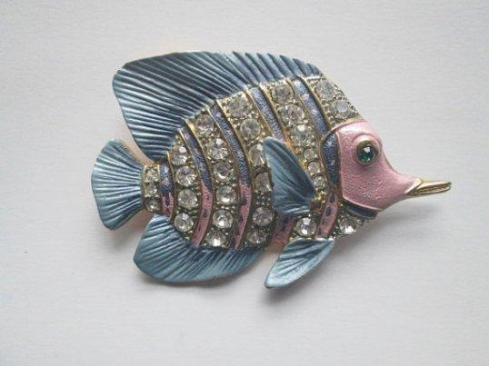 Vintage Fish Pin