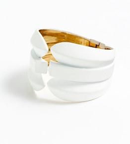 J Crew Contoured Spike Cuff Bracelet