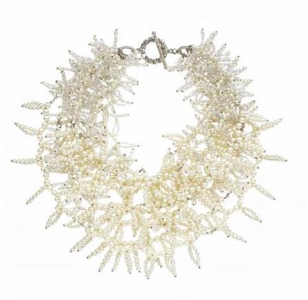 Miriam Haskell Fringe necklace