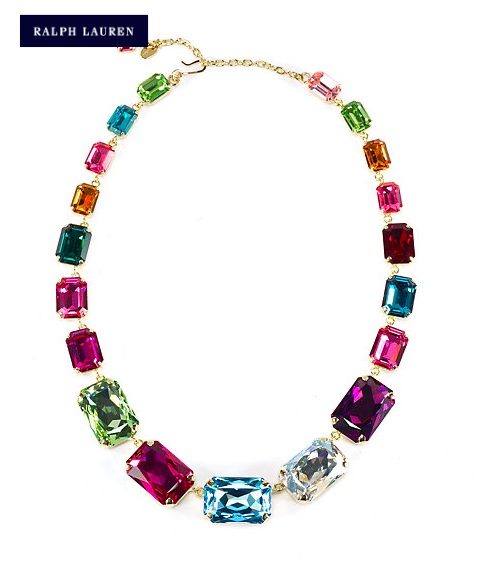 Ralph Lauren Emerald Cut Necklace