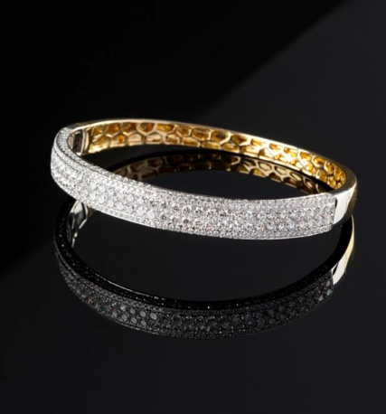 Simon Sturtbray diamond bracelet