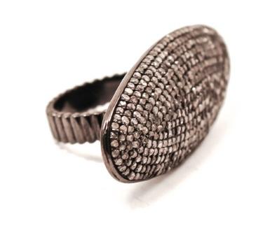 Alixandra Collections Diamond Horizontal Ring