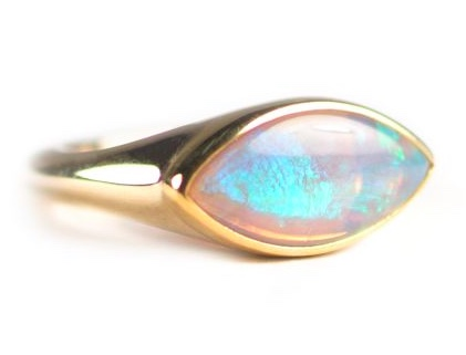 Elizabeth Street Opal Ring
