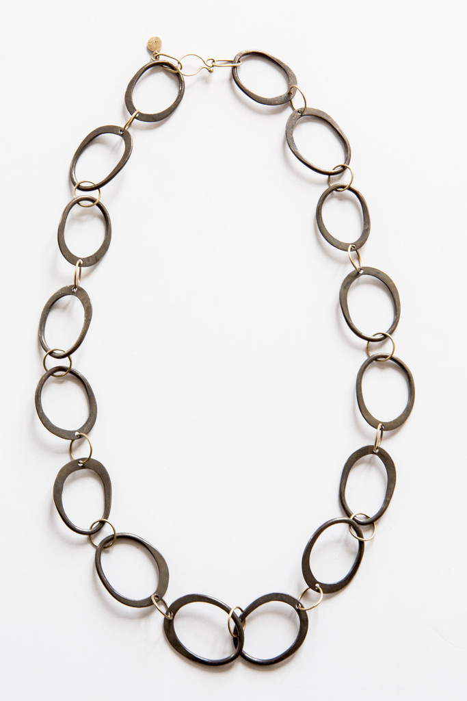 Lisa Ziff oval link necklace