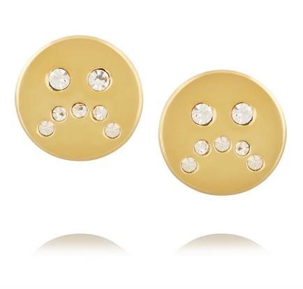 Marc Jacobs Unsmiley Earrings