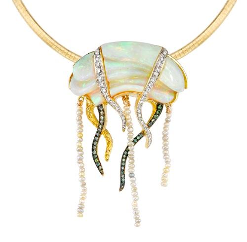 Mark Schneider Jellyfish Pendant