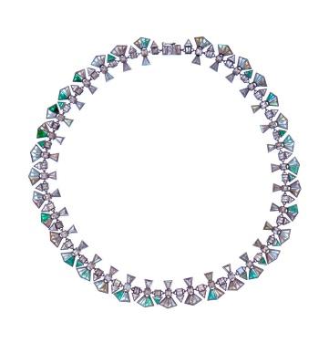 Nak Armstrong Silver Labradorite Necklace