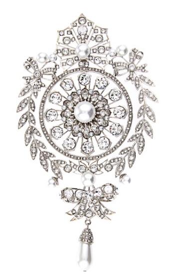 Givenchy Crystal Brooch