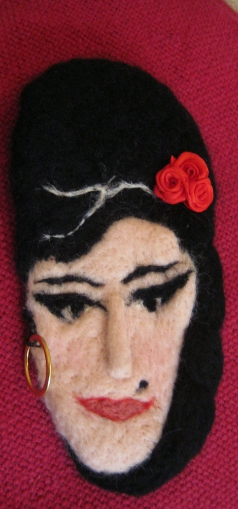 Little Amy Whinehouse Brooch