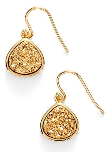 Sonya Renee Drusy Teardrop Earrings