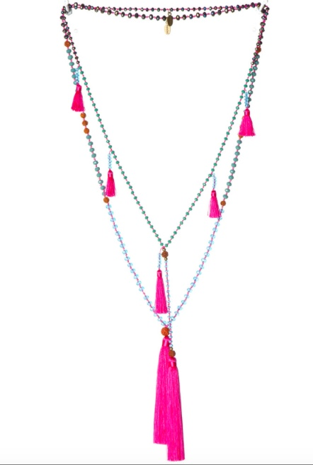 Zacasha Ganitri necklace set
