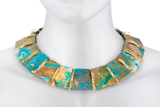 Barbara Heinrich opal necklace