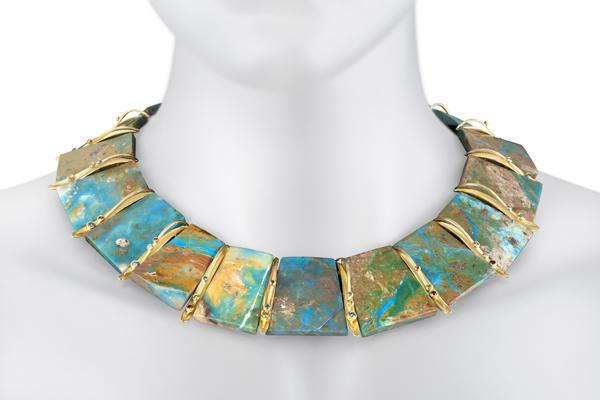 Barbara Heinrich opal necklace