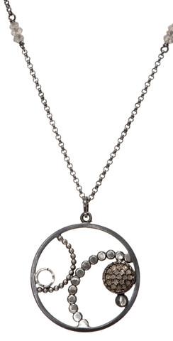 Chihiro Makio Simple Pendant Simple Circle