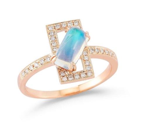 Dana Rebecca Isla Rio Moonstone Ring