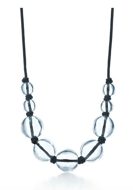 Elsa Peretti Rock Crystal Sphere Necklace