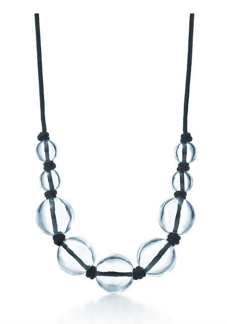 Elsa Peretti Rock Crystal Sphere Necklace