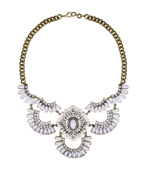 Lydell NYC White Statement Necklace