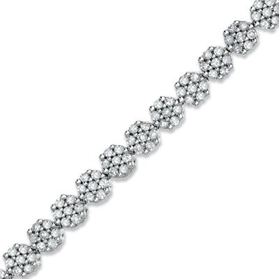 Zales Diamond Flower Bracelet