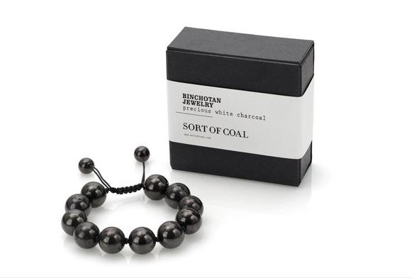Binchotan bracelet
