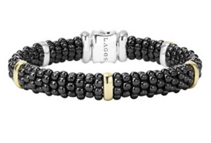 Lagos Black Caviar bracelet