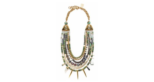 Lizzie Fortunato Turquoise Riad Necklace