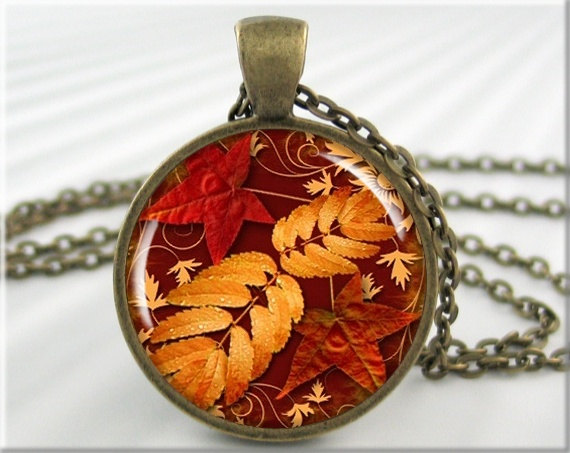 MGArtisan Pendants autumn necklace