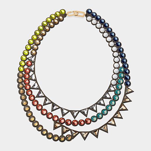 Shinobu Marotta Crystal Necklace