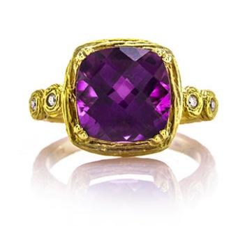 Brian Gavin Morganite Gold Ring